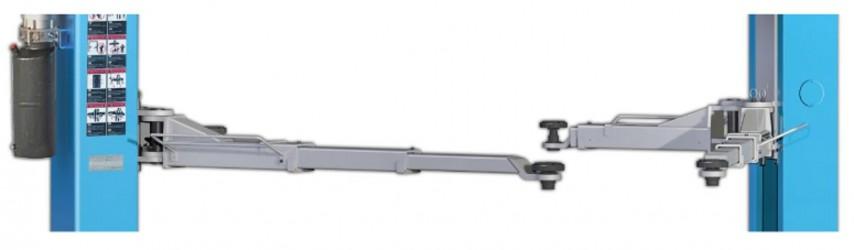 Dviejų kolonų autokeltuvas Nortec Automotive PD5000