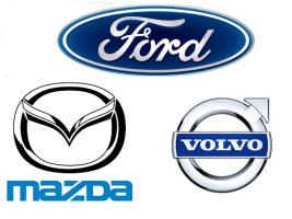 Ford Volvo Mazda fiksatoriai
